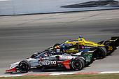 #98: Marco Andretti, Andretti Herta with Marco & Curb-Agajanian Honda, #26: Zach Veach, Andretti Autosport Honda