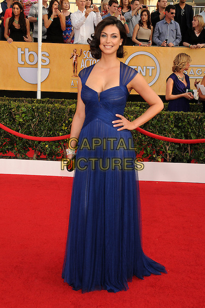 18 January 2014 - Los Angeles, California - Morena Baccarin. 20th Annual Screen Actors Guild Awards - Arrivals held at The Shrine Auditorium. Photo Credit: Byron Purvis/AdMedia<br /> CAP/ADM/BP<br /> ©Byron Purvis/AdMedia/Capital Pictures