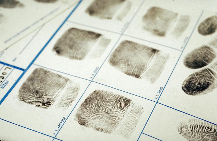 Set of fingerprints.