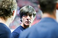 Bundestrainer Joachim Loew (Germany) spricht zu Co-Trainer Marcus Sorg (Germany), Tschechische Republik vs. Germany, Football, WM-Qualifikation, 01.09.2017 *** Local Caption *** © pixathlon<br /> Contact: +49-40-22 63 02 60 , info@pixathlon.de