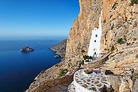 The monastery of Hozoviotissa in Amorgos island, Greece