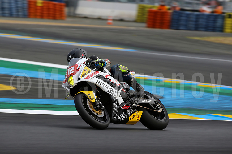 #212 DUNLOP MOTORS EVENTS (FRA) SUZUKI GSX-R1000 SUPERSTOCK BEURDELEY RENAUD (FRA) DEJEAN ARNAUD (FRA) BEDU MICKAEL (FRA)