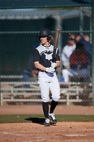 Brennan Holt during the Under Armour All-America Tournament powered by Baseball Factory on January 18, 2020 at Sloan Park in Mesa, Arizona.  (Mike Janes/Four Seam Images)