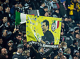 06.03.2013  Juventus v Celtic, UEFA Champions League round of the last 16 second leg  ...................    GIANLUIGI BUFFON BANNER