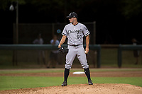AZL White Sox relief pitcher Ian Clarkin (60) looks in for the sign during a rehab assignment in an Arizona League game against the AZL Dodgers at Camelback Ranch on July 7, 2018 in Glendale, Arizona. The AZL Dodgers defeated the AZL White Sox by a score of 10-5. (Zachary Lucy/Four Seam Images)