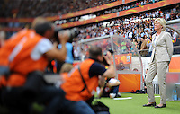 Coach Silvia Neid of team Germany during the FIFA Women's World Cup at the FIFA Stadium in Frankfurt, Germany on June 30th, 2011.
