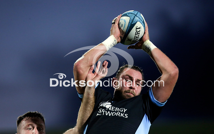 Friday 24th September 2021<br /> <br /> Ryan Wilson during the URC Round 1 clash between Ulster Rugby and Glasgow Warriors at Kingspan Stadium, Ravenhill Park, Belfast, Northern Ireland. Photo by John Dickson/Dicksondigital