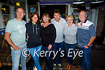 Enjoying the Tyrone and Mayo in Linnanes bar Tralee on Saturday, l to r: Andrew and Kirsty Ellis, Deirdre and Michael Gabbert, Mary Greensmyth and Richard Kelliher.