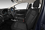 Front seat view of a 2018 Ford EcoSport SE 5 Door SUV front seat car photos
