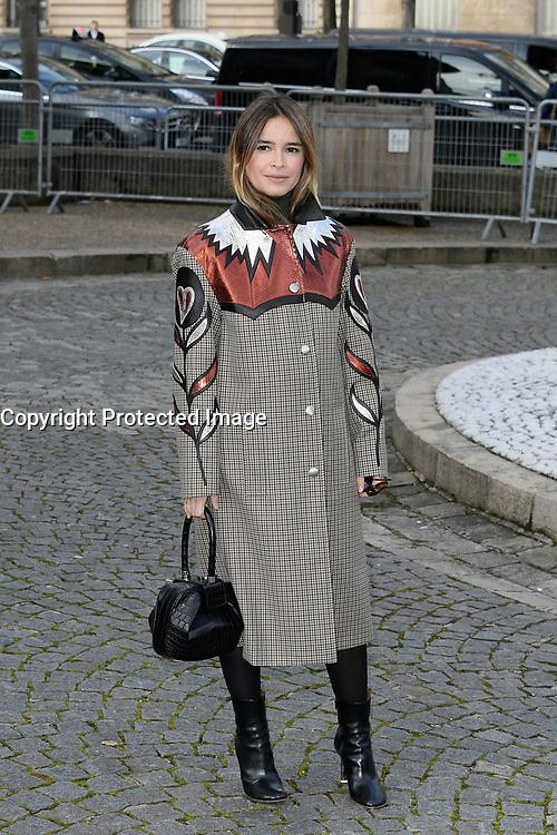 Miroslava DUMA - Show Miu Miu - Paris Fashion Week Womenswear Fall/Winter 2017/2018 - France