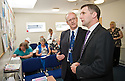 "Michael Matheson MSP, Minister for Public Health at the launch of ""Supporting Carers in primary Care - Resource Pack"" at Slamannan Health Centre."