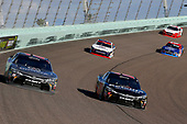 NASCAR XFINITY Series<br /> Ford EcoBoost 300<br /> Homestead-Miami Speedway, Homestead, FL USA<br /> Saturday 18 November 2017<br /> Christopher Bell, GameStop/PowerA Toyota Camry and Ryan Preece, Safelite AutoGlass Toyota Camry<br /> World Copyright: Russell LaBounty<br /> LAT Images