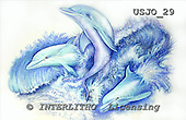 Marie, REALISTIC ANIMALS, REALISTISCHE TIERE, ANIMALES REALISTICOS, paintings+++++,USJO29,#A# ,Joan Marie, dolphin