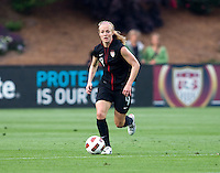 Becky Sauerbrunn. The USWNT defeated Japan, 2-0,  at WakeMed Soccer Park in Cary, NC.