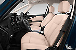 Front seat view of 2017 Opel Zafira Innovation 5 Door Mini MPV Front Seat  car photos