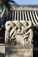 China, Peking (Beijing), daoistischer Tempel und Kloster Baiyun Guan (Kloster zur weißen Wolke)