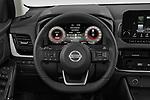 Car pictures of steering wheel view of a 2022 Nissan Qashqai N-Connecta 5 Door SUV Steering Wheel