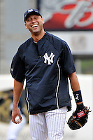 Feb 24, 2010; Tampa, FL, USA; New York Yankees  infielder Derek Jeter (2) during  team workout at George M. Steinbrenner Field. Mandatory Credit: Tomasso De Rosa/Four Seam Images