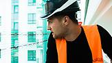 Ukrainer in Warschau (Polen): Dmytro Pidhorny ist Geschäftsführer eines Bauunternehmens in Warschau. / Foto: Paul Henschel