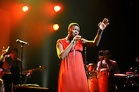 Angelique Kidjo and guest at Montreal Jazz Festival - June 2011
