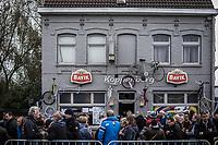 the Koppenberg pub. <br /> <br /> Koppenbergcross Belgium 2018