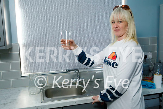 Caroline O'Sullivan at home in An Fearann in Ardfert on Tuesday, and is having major issues with her water supply.