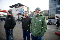 visiting the race in his off-season: German road champion André Greipel (DEU/Lotto-Belisol)<br /> <br /> Zolder CX UCI World Cup 2014