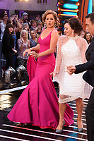 """Dame Darcey Bussell and Shirley Ballas<br /> at the launch of """"Strictly Come Dancing"""" 2018, BBC Broadcasting House, London<br /> <br /> ©Ash Knotek  D3426  27/08/2018"""