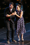 """Jerry O'Connell and Rachel Bloom during the Manhattan Concert Productions 25th Anniversary concert performance of """"Crazy for You"""" at David Geffen Hall, Lincoln Center on February 19, 2017 in New York City."""