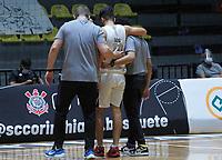 São Paulo (SP), 06/01/2021 - Corinthians-Vip Tech - Partida entre Corinthians e Vip Tech válida pela 9ª Rodada da NBB13 nesta Quarta-Feira (06) no estádio Ginásio Wlamir Marques. em São Paulo SP. 06/01/2021