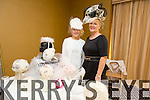 Emma O'Connor and Shirley Clifford.  Shirley's Unique Brides and Head Pieces based in Killarney  at the Arty Bits Christmas Craft Fair in the Fels Point Hotel on Sunday