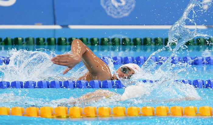 Myriam Soliman, Lima 2019 - Para Swimming // Paranatation.<br /> Myriam Soliman competes in Para Swimming // Myriam Soliman participe en paranatation. 26/08/2019.