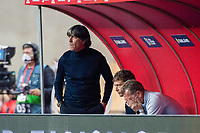 17th November 2020;  Estadio La Cartuja de Sevilla, Seville, Spain; UEFA Nations League Football, Spain versus Germany;  Joachim Loew, Bundestrainer (ger) looks on dejectedly