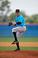 Miami Marlins pitcher Cam Baird (69) during a Minor League Extended Spring Training game against the New York Mets on April 12, 2019 at First Data Field Complex in St. Lucie, Florida.  (Mike Janes/Four Seam Images)
