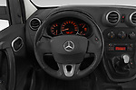 Car pictures of steering wheel view of a 2019 Mercedes Benz Citan Perfect-Tool 5 Door Car Van Steering Wheel