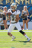 Akron kick returner L.T. Smith III. The Akron Zips Defeated the Pitt Panthers 21-10 at Heinz Field, Pittsburgh. Pennsylvania on September 27, 2014.