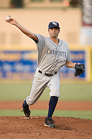 Starting pitcher Nick Barnese #27 of the Charlotte Stone Crabs in action against the Jupiter Hammerheads at Roger Dean Stadium June 16, 2010, in Jupiter, Florida.  Photo by Brian Westerholt /  Seam Images