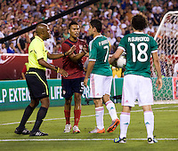Raymond Bogle, Michael Orozco Fiscal, Pablo Barrera. The USMNT tied Mexico, 1-1, during their game at Lincoln Financial Field in Philadelphia, PA.