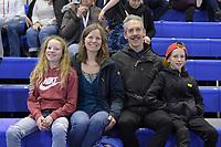 SPEEDSKATING: Calgary, The Olympic Oval, 07-02-2020, ISU World Cup Speed Skating, Nico, Tonny de Jong-Knoll, Mark Knoll and Jasper, ©foto Martin de Jong