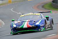 #47 Cetilar Racing Ferrari 488 GTE EVO LMGTE Am, Roberto Lacorte, Giorgio Sernagiotto, Antonio Fuoco, 24 Hours of Le Mans , Race, Circuit des 24 Heures, Le Mans, Pays da Loire, France