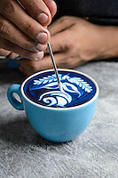 Coffee Art - Dhan Tamang