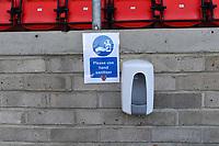 Covid19 General view of the Chigwell Construction Stadium home of Dagenham  during Dagenham & Redbridge vs Ebbsfleet United, Buildbase FA Trophy Football at the Chigwell Construction Stadium on 19th December 2020