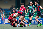 Poon Ka Yan of Lions (L) in action during the Women's National Super Series 2017 on 13 May 2017, in Hong Kong Football Club, Hong Kong, China. Photo by Marcio Rodrigo Machado / Power Sport Images