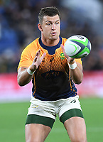 2nd October 2021, Cbus Super Stadium, Gold Coast, Queensland, Australia;   Handre Pollard. New Zealand All Blacks versus South Africa Springboks.The Rugby Championship. Rugby Union test match.