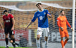 St Johnstone v Kilmarnock…24.11.18…   McDiarmid Park    SPFL<br />Murray Davidson reacts after putting his shot over the bar<br />Picture by Graeme Hart. <br />Copyright Perthshire Picture Agency<br />Tel: 01738 623350  Mobile: 07990 594431