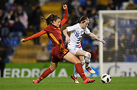 Alicante, Spain - Tuesday January 22, 2019: The women's national teams of the United States (USA) and Spain (ESP) play in an international friendly game at Estadio José Rico Perez.
