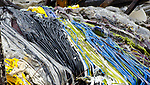 Broken and melted glass, Sundance Art Glass, Foster Road, Paradise.
