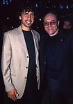 CARLO VERDONE CON DAMIANO TOMMASI<br /> FESTA DELLA ROMA A FREGERE 2002