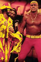 Randy Macho Man Savage  Hulk Hogan 1991                                                            Photo By John Barrett/PHOTOlink