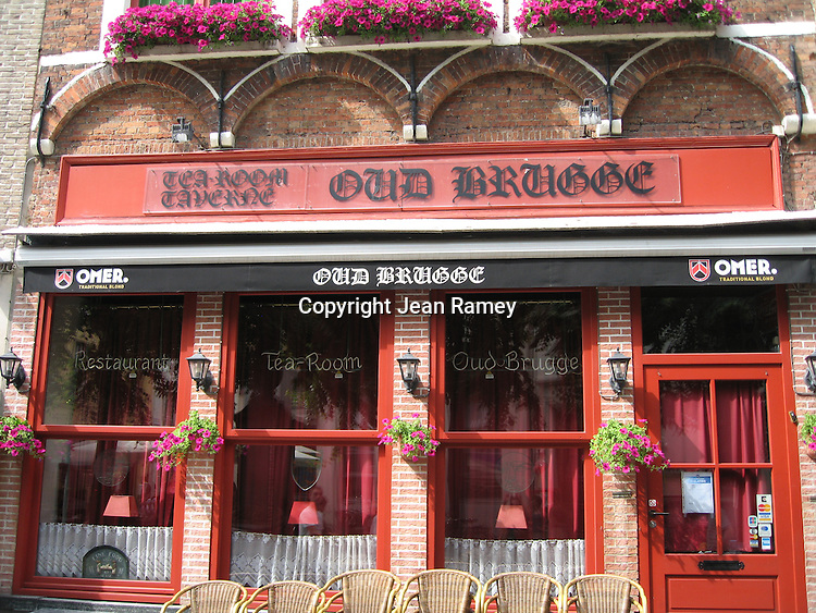 Cafes - Brugge, Belgium